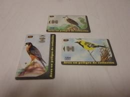 COSTA RICA - 3 Nice Phonecards - Costa Rica