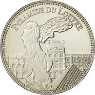 France, Medal, Les Plus Beaux Trésors Du Patrimoine De France, Pyramide Du - France