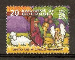 2004 - Noël - Illustration De Chants Et Symboles De Noël - N°1034 - Guernsey