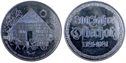 01562 GETTONE JETON TOKEN COMMEMORATIVE MUNICIPAL OSTERHOLZER BAUERNHAUS  800 JAHRE  OSTERHOLZ - Allemagne