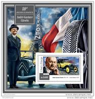 SAO TOME 2015 ** S/S Andre-Gustave Citroën Citroen Eiffel Tower Eiffelturm Tour Eiffel A1515 - Cars