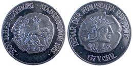 03853 GETTONE JETON TOKEN COMMEMORATIVE MUNICIPAL 2000 JAHRE AUSBURG STADT. JUBILAUM 1985 ROMAN COIN - Germany