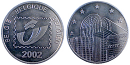 03866 GETTONE JETON TOKEN BELGIQUE BELGIO ADVERTISING POSTAL SERVICE 2002 - Netherland