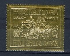 Cameroon, Napoléon Bonaparte, Golden Stamp, 1969, MNH VF - Cameroon (1960-...)