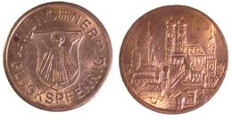 01126 GETTONE JETON TOKEN COMMEMORATIVE LOCAL MUNICIPAL MUNCHEN GLUCKSPFENNING MUNCHNER - Germany