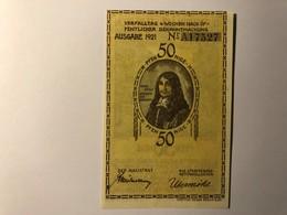 Allemagne Notgeld Plon 50 Pfennig - [ 3] 1918-1933 : Weimar Republic