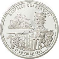 France, Medal, Bataille Des éparges, FDC, Cuivre Plaqué Argent - France