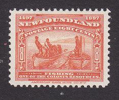 Newfoundland, Scott #67, Mint No Gum, Fishing, Issued 1897 - Terre-Neuve