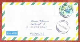 Luftpost, EF Freiheitskopf, Fortaleza Nach Koeln 1994 (45528) - Cartas