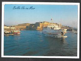 Cpm 5612782 Belle Ile En Mer Départ Matinal Pour Le Continent - Belle Ile En Mer