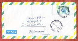 Luftpost, EF Freiheitskopf, Fortaleza Nach Koeln 1995 (45529) - Cartas
