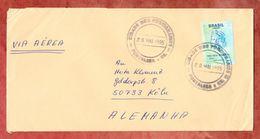 Luftpost, EF Freiheitskopf, Fortaleza Nach Koeln 1995 (45530) - Cartas