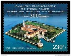 Armenia 2017 Mih. 1029 Monastery San Lazzaro Degli Armeni MNH ** - Armenia