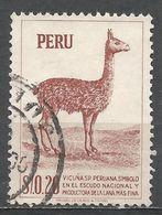 Peru 1953. Scott #461 (U) Vicuna - Pérou