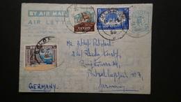 Sri Lanka - Ceylon - 1956 - Air Letter O - Postal Stationery - Look Scans - Sri Lanka (Ceylon) (1948-...)
