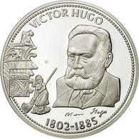France, Medal, Victor Hugo, FDC, Cuivre Plaqué Argent - France