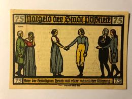 Allemagne Notgeld Possneck 75 Pfennig - [ 3] 1918-1933 : Weimar Republic