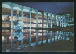 Brasil. DF - Brasília. *Palácio Itamarati* Circulada 1974. - Brasile