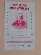 BELGICA 90 ( Louis Hanciau ) BELGIAN Philatelist 08-03-1990 ( Foto Sheet N° 3982 / Verschillende Nrs. Beschikbaar ) ! - Velletjes
