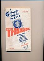 Catalogue De Cotation Henri Thiaude Des Timbres Poste France  Mars 1942 ( état Moyen   ) - Frankrijk