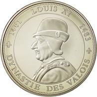 France, Medal, Royal, Louis XI, History, Dynastie Des Valois, SPL+, Nickel - France