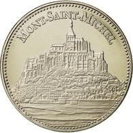 France, Medal, Les Plus Beaux Trésors Du Patrimoine De France, Mont Saint - France