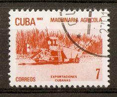 1982 - Les Exportations Cubaines ''Machines Agricoles'' - N°2339 - Cuba