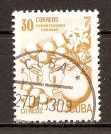 1982 - Les Exportations Cubaines ''Agrumes'' - N°2343 - Cuba
