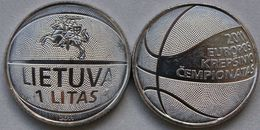 Lithuania 1 Litas  2011 UNC / BU - Basketball < Coin From Roll > - Lithuania