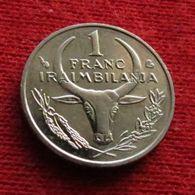 Madagascar 1 Franc 2002 Malagasy UNCºº - Madagascar