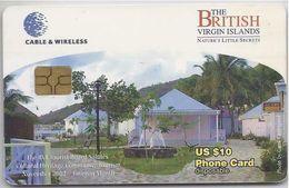 BRITISH VIRGIN ISLANDS - NATURE'S LITTLE SECRETS - BLACK CHIP - Virgin Islands