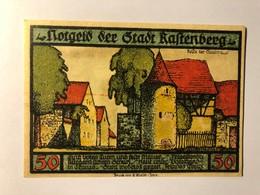 Allemagne Notgeld Rastenberg 50 Pfennig - [ 3] 1918-1933 : Weimar Republic