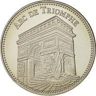 France, Medal, Les Plus Beaux Trésors Du Patrimoine De France, Arc De Triomphe - France