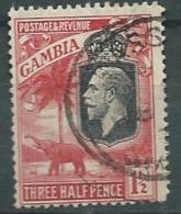 Gambie   - Yvert N° 95 Oblitéré  - Abc 25533 - Gambia (...-1964)