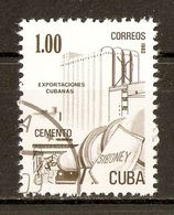 1982 - Les Exportations Cubaines ''Ciment'' - N°2345 - Cuba