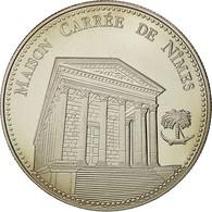 France, Medal, Les Plus Beaux Trésors Du Patrimoine De France, Maison Carrée - France