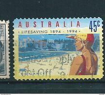 N° 1343 Sauveteur En Surveillance Lifesaving   Timbre Australie (1994) Oblitéré Stamp Australia - 1990-99 Elizabeth II