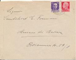 Italy Cover Sent To Germany 29-11-1937 - 1900-44 Vittorio Emanuele III