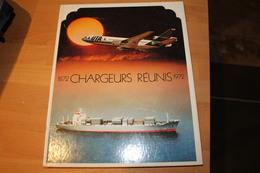 Livre Centenaire De Compagnie Des Chargeurs Réunis 1872 - 1972 Compagnie Aérienne UTA - Books, Magazines, Comics