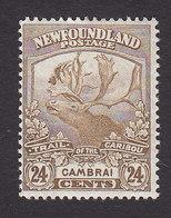Newfoundland, Scott #125, Mint Hinged, Caribou, Issued 1919 - Newfoundland