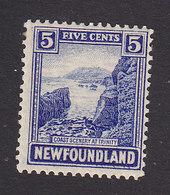 Newfoundland, Scott #135, Mint Hinged, Coast Of Trinity, Issued 1923 - Terre-Neuve