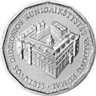 Lithuania 1 Litas  2005 UNC - Royal Palace - Lithuania