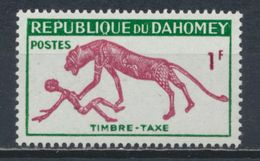 °°° DAHOMEY - Y&T N°32 MNH TAXE - 1963 °°° - Benin – Dahomey (1960-...)