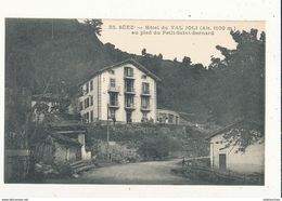 73 SEEZ HOTEL DU VAL JOLI AU PIED DU PETIT SAINT BERNARD CPA BON ETAT - France