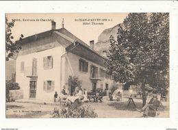 73 SAINT JEAN D ARVEY HOTEL DES THERMES CPA BON ETAT - Francia