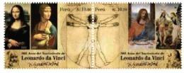 Peru 2018 Leonardo Da Vinci - Famous People