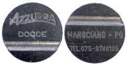 02950 JETON TOKEN DOCCE WASHING AZZURRA DOCCE MARSCIANO PERUGIA VERSIONE 2 - Unclassified
