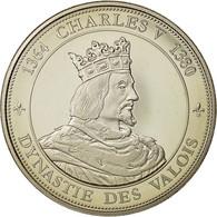 France, Medal, Royal, Charles V, History, Dynastie Des Valois, SPL+, Nickel - France