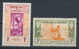 °°° DAHOMEY - Y&T N°159/61  MNH - 1961 °°° - Benin – Dahomey (1960-...)