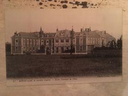 62 - CPA  ARRAS - Ecole Normale De Fille - Avant La Terrible Guerre (Charles Ledieu, 47) - Arras
